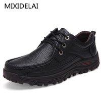 Mixidelai Marka Erkekler Ayakkabı El Yapımı Yüksek Kalite Hakiki Deri Ayakkabı Comfort Iş Adam Rahat Ayakkabılar Büyük Boy 47 48 LJ201023
