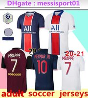 2020/21 psg Paris camiseta de fútbol 2020 2021 Paris Fútbol CAMISA Mbappe ICARDI Cavani camisetas de survetement maillot de pie customiz