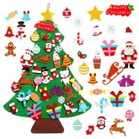 DIY Felt Christmas Tree Merry Christmas Decor For Home 2020 ...