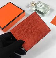 الجملة أزياء الرجال مخلب billfold محفظة بطاقة الائتمان حامل رقيقة محفظة بطاقة البنك عملة الحقيبة حقيبة الأعمال المرأة جلد طبيعي بطاقة الهوية