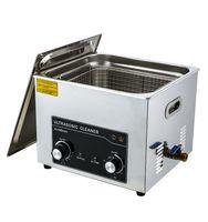 Máquina de limpieza ultrasónica 15L Máquina de limpieza ultrasónica 40kHz Máquina de limpieza de gran capacidad para el hogar A15L