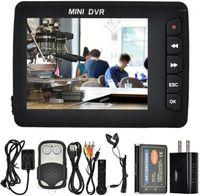 "Grabadora de video portátil, Mini coche DVR Ojo Mini DVR 2.5 ""TFT TFT Alta definición Botón de pinhole W / Dectecector de movimiento Cam1"