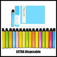 ewest EXTRA Hit EXUS descartável Vape dispositivo Pen Pod 16 cores 650mAh 1200 Puffs Vapor Start Kit sopro livre DHL max