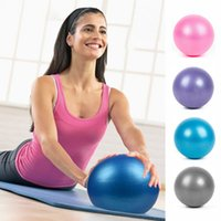 25CM Yoga Ball Übungen Gymnastik-Fitness Pilates Ball Balance Fitnessraum Fitness Yoga Kernkugel Indoor-Training