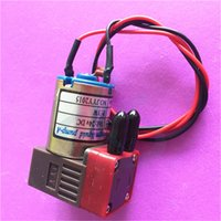 stampante a getto d'inchiostro UV pompa dell'inchiostro piccola UV Micro Pompe a membrana per Flora Wit-colore MyJet Allwin liquido o aria DC 24V 3W pompa dell'inchiostro 100 ~ 200 ml / min