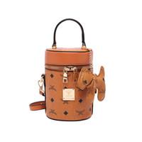 de las mujeres solo hombro del cubo bolsa portable de la manera Crossbody alta calidad del bolso de cadena de las señoras del monedero de diseño de lujo