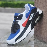 2021 الكلاسيكية 90 أحذية رجالي المرأة أحذية في الهواء الطلق أسود أبيض رياضة صدمة الركض المشي المشي رياضة رياضية أحذية رياضية حذاء