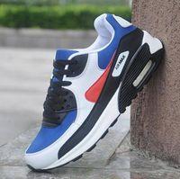 2021 classico 90 scarpe da uomo scarpe da uomo scarpe da esterno nero bianco sport shock jogging camminando escursionismo sport sport scarpe da ginnastica scarpe