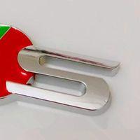Автомобильные наклейки автомобиля Chrome 3D Metal R S TRANGE EMBLEM Стиллинг автомобиля Стилирование автомобилей для Jaguar XF XFR XK XKR Наклейка Badge