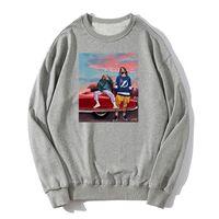 J Cole X Kendrick Lamar Hoodie komik Hip Hop Erkek Unisex Pullover Hoodies Kazak Harajuku Streetwear