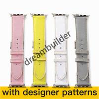 L модный бассейн для iPhone Band для iPhone Band 42 мм 38 мм 40 мм 44 мм Iwatch 3 4 5 полосы кожаный ремешок браслет полосы ремешок падение