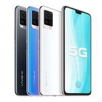 "Original Vivo S7 5G Mobiltelefon 8 GB RAM 128 GB 256 GB ROM Snapdragon 765g Octa Core 64MP 6.44 ""Vollbild-Fingerabdruck-ID Gesicht NFC-Handy"