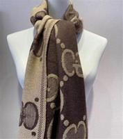 Marca cachemire sciarpa di modo scialle morbida sciarpa del jacquard di spessore cashmere sciarpa classica di 180 * 70cm