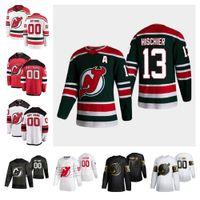 New Jersey Devils 2021 Retro Retro Formalar 45 Sami Vatanen Jersey 29 Mackenzie Blackwood Mens Womens Özel Dikişli 2021 Hokey Jersey