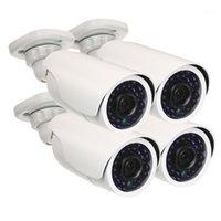 무선 카메라 키트 AHD 보안 키트 4 * 1080P 방수 IR CCTV + 4 * 60FT 감시 케이블 홈 보안 용 1