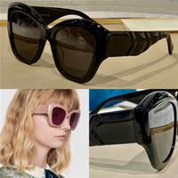 منتج جديد شائع تصميم نظارات 0808 الساحرة القط العين لون إطار كبير تصميم خاص المعلم امرأة الأزياء نمط أعلى جودة