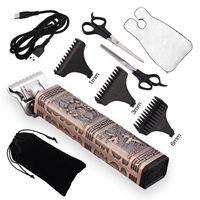 Barber T9 Electric Hair Cut Rechargeable Beard Trimmer Professional Hair Trimmer 0mm Baldheaded Men Hair Cutting Machine