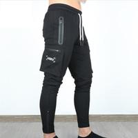 Pantalon de cargaison de sport de plein air occasionnel pour hommes pour garçons Authorn Authstring Fitness Jogging Pantalon long Pantalon de survêtement