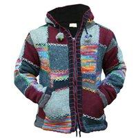 Mjartoria Spring Men Zipper с капюшоном пэчворк вязание вязание Осень мода вязаный свитер свитер поступления повседневная пальто Casaco Masculina 201105