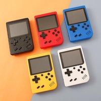 미니 핸드 헬드 게임 콘솔 레트로 휴대용 비디오 게임 콘솔은 400 SUP 게임 8 비트 3.0 인치 다채로운 LCD 크래들 디자인을 저장할 수 있습니다
