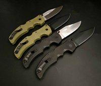Cuchillo plegable táctico de acero frío de alta calidad S35VN Punto de gota Blade G10 Manija Supervivencia al aire libre Edc Cuchillos de bolsillo EDC