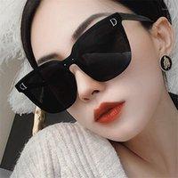 Sonnenbrille Luxus Designer Übergroße Quadratische Sonnenbrille Frauen Mode 2021 Big Frame Black Sunschirte Weiblich1
