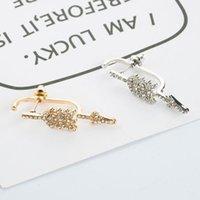 Pfeil Ohrringe für Frauen Mode einfache geometrische Golddreieck Liebeserklärung Ohrringe Sehr schöne Pfeil Ohrringe