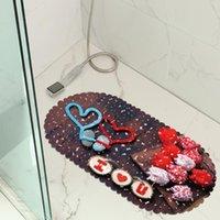 حصيرة الحمام عيد الحمام حصيرة الحمام PVC عدم الانزلاق الطابق حوض شفط المطبخ