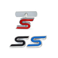 10 개 3D 금속의 전면 그릴 크롬 엠블럼 배지 자동차 스티커 데칼 포드 포커스 피에스타 Ecosport 구가 몬 에베레스트 자동차에 대한