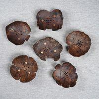أصالة الكرتون Woodiness الصابون الرف F2 الصرف صندوق السمك جميل ورقة زهرة الفيل قوية جوز الهند القشة هدية حالة المصنع مباشرة 7lj