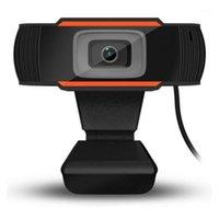 캠코더 HD 웹캠 내장 마이크 720P USB 스트리밍 카메라 데스크탑 PC Windows 게임 콘솔 Camera1