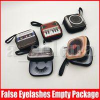 Piano Camera TV Ciglia finte imballaggio box sferza Scatole falso 3d Mink Lashes Caso vuoto ciglio di trucco bagagli