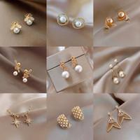 Orecchini per i monili di modo delle donne diamante cerimonia nuziale / aggancio orecchini di goccia Hanging Piccolo ORECCHINI