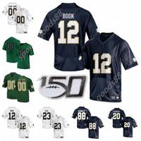20 21 NCAA Notre Dame Fighting Irish Football College 87 Michael Mayer Jersey Tremble Kyle Hamilton Jeremiah Owusu-Koramoah Tariq Bracy