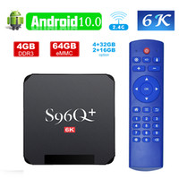 Cheapest S96Q PLUS TV BOX Android 10. 0 Allwinner H616 4GB 32...