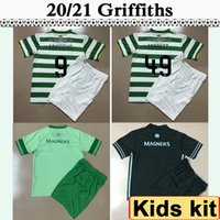 2020 2021 Griffiths McGregor Kit Kit Kit de football Jerseys Nouveau Klimala Forrest Brown Rogic Christie Home Home Football Chemises Enfant manches courtes