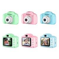 2 polegadas HD 1080p Chargable Digital Mini Crianças Câmera Dos Desenhos Animados Câmera Bonito Brinquedos Fotografia Fotografia de Outdoor Papel para Presente de Aniversário Criança