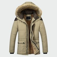 2020 Fashion Casual Slim Thick Warm Mens Coats Parkas with Hooded Long Overcoats Male Clothes Winter Jacket Men Brand Clothing