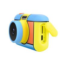 câmeras crianças câmera D7 2,0 polegadas telas de alta definição recarregável mini bonito desenho animado várias cores opcionais