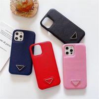 Cas de couverture en cuir de mode classique pour iPhone 13 12 11 PRO X XS MAX XR 8 7 Galaxy S21 S20 S10 Note 10 20 Back Case