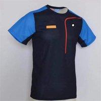 Nueva camiseta de secado rápido de la motocicleta Casual Motorcycle Short T Racing Cycling de manga corta Ropa