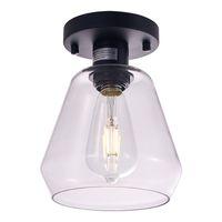 LED 천장 조명 블랙 E26 산업용 로프트 펜던트 램프 실내 카페 레스토랑 바 복도 아트 장식 조명 US Stockailable-L