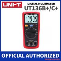 UNI-T UT136B + UT136C + 디지털 멀티 미터 자동 전원 끄기 미터 AC DC 전압 전류 OHM 다이오드 캡 Hz 테스트 다이오드 멀티 미터