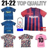 Jersey Barca 21 22 Camiseta de Futbol Ansu Fati 2021 Griezmann F.De Jong Maillots de Football Shirt Kit Kids Kit