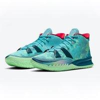 Kyries 7 Special FX Pre-Heat Collection جديد 2021 أحذية كرة السلة Kyries Men Youth Sneakers التدريب الرياضي
