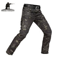MEGE Brand Tactical Camouflage Military Casual Combat Cargo Pants Water Repellent Ripstop Men's 5XL Trousers Spring Autumn 200930