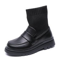 Child Girl Winter Sneakers For 2020 Boys Leather Boots Autum...