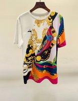 2021 Sommer Weiß Frau Grafik T-Shirt Designer Luxus Damen Kleidung Ebb9