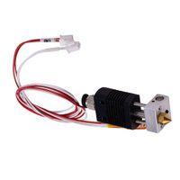 3D 프린터 부품 Hotend는 ANET ET4 / ET4X / ET4 프로 1.75mm로 필라멘트 직경 0.4mm의 노즐을위한 압출기 키트 24V 40W를 조립