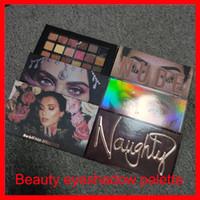 Beauté Eye Maquillage Palettes Rose Gold Nu Méchant 18 Couleurs Pauche Palette Matte Shimmer Mercury Eaufricaine Shadow Paletes Désert Duskdesert